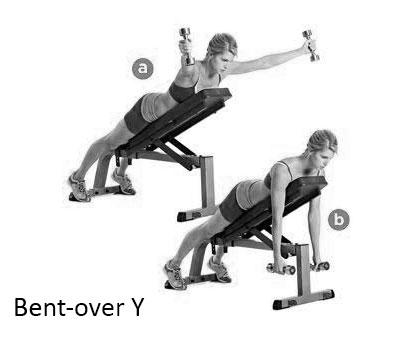Bent-over Y