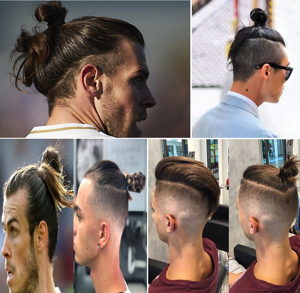 Top Knot (Best Hair Style By Gareth Bale)