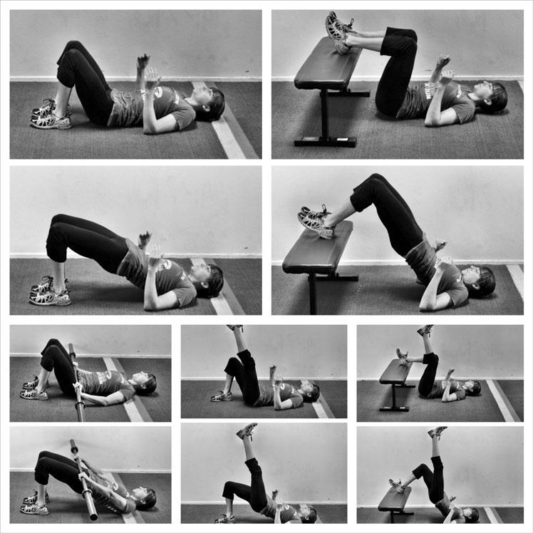 Elevated dynamic hip thrust