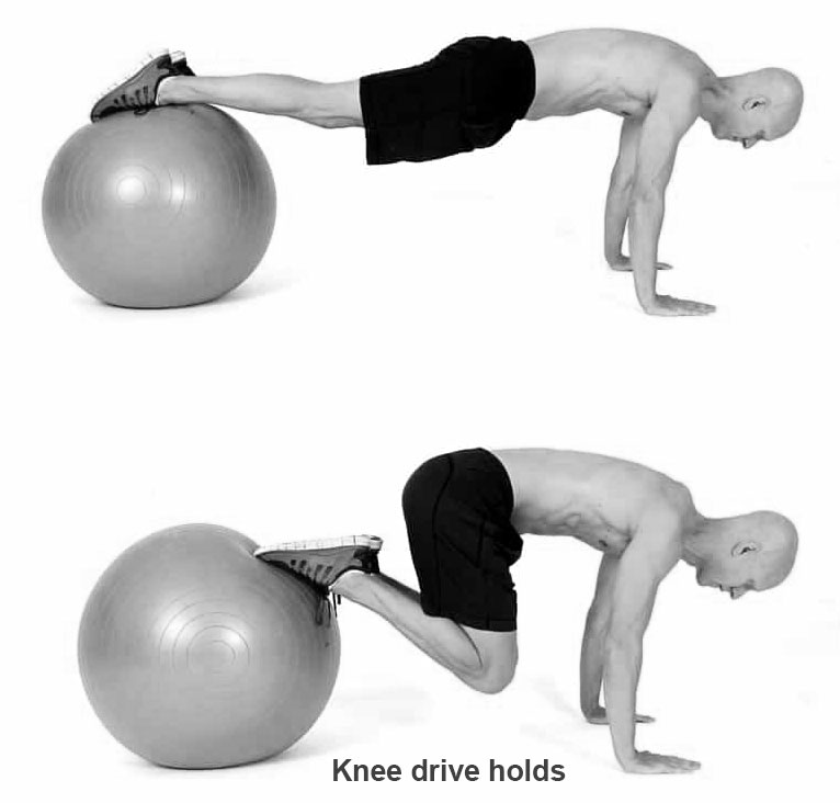 Knee drive holds