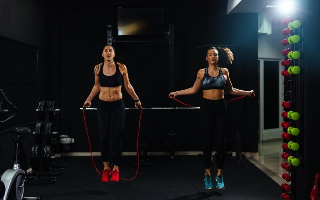 jumping rope practice